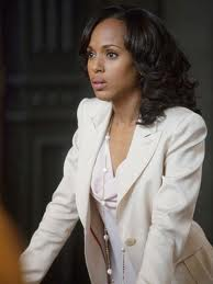 Kerry Washington at work